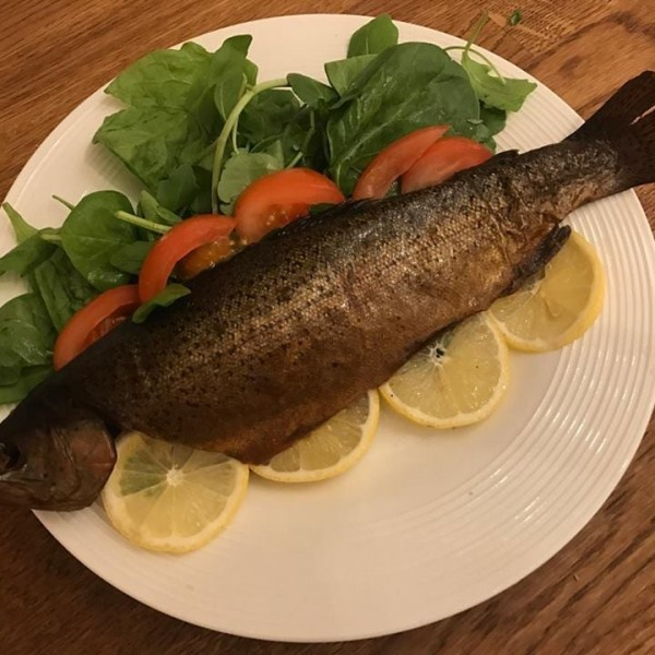 Hot Smoked Trout Large 220g at Henley Circle Online Shop