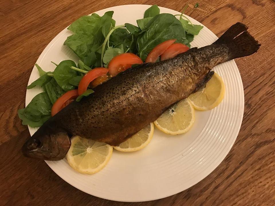 Hot smoked trout. Medium 190g at Henley Circle Online Shop