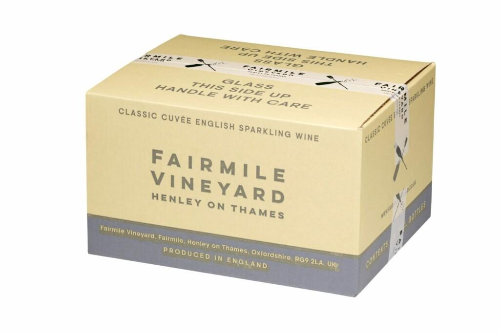 Case of 6 bottles Fairmile Vineyard Henley On Thames classic cuvée at Henley Circle Online Shop