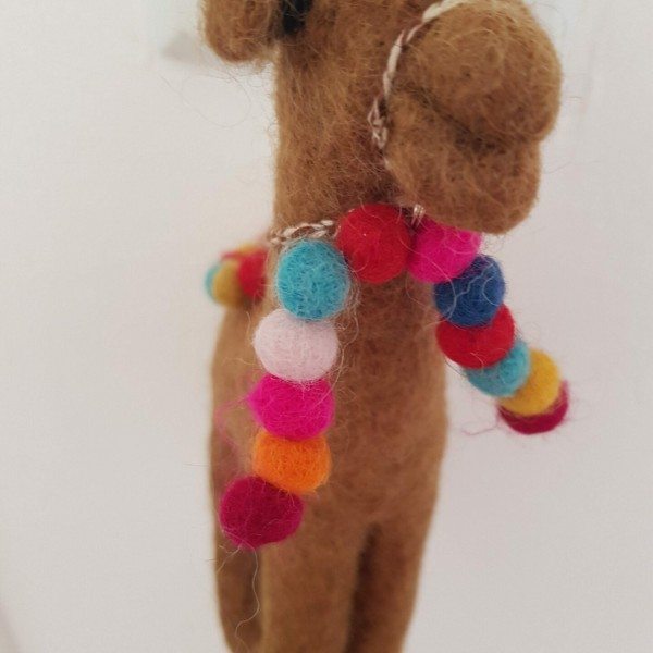 Marrakech Carla felted Camel at Henley Circle Online Shop