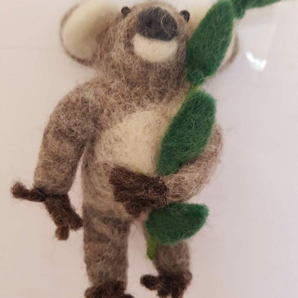 Koala on eucalyptus Hanging Bear at Henley Circle Online Shop