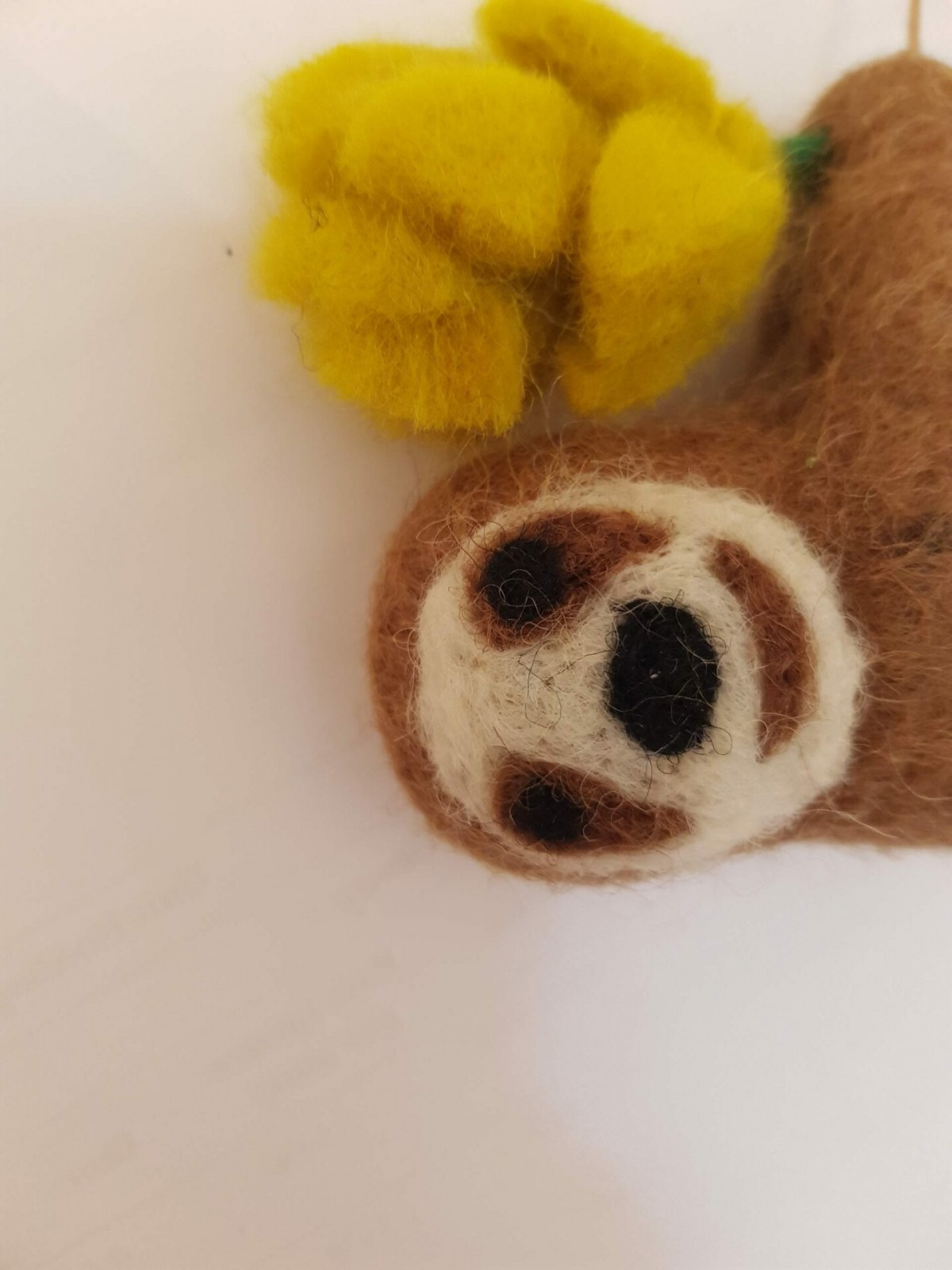 """Hanging """" Stanley"""" Sloth with flower at Henley Circle Online Shop"""