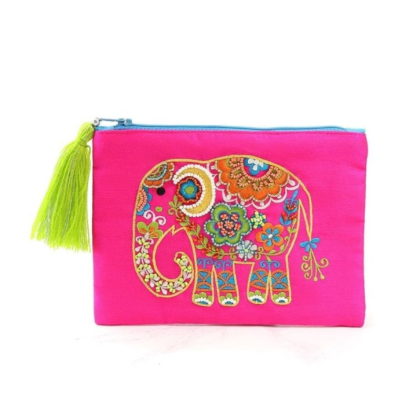 Pink purse with embellished elephant at Henley Circle Online Shop