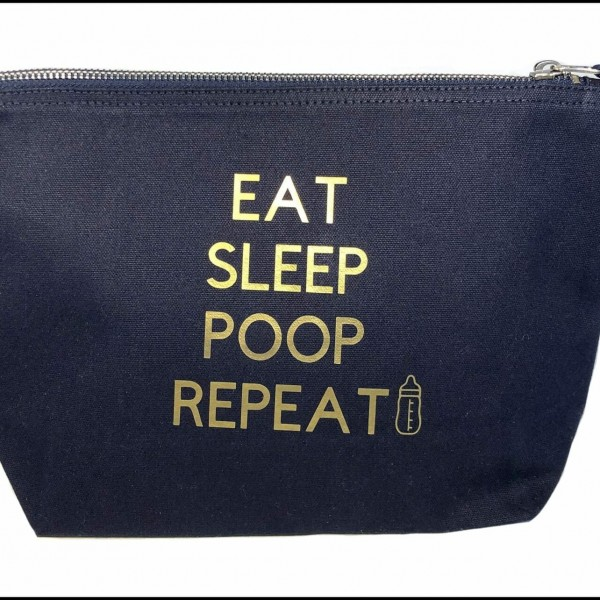 Eat Sleep Poop Baby Change Bag at Henley Circle Online Shop