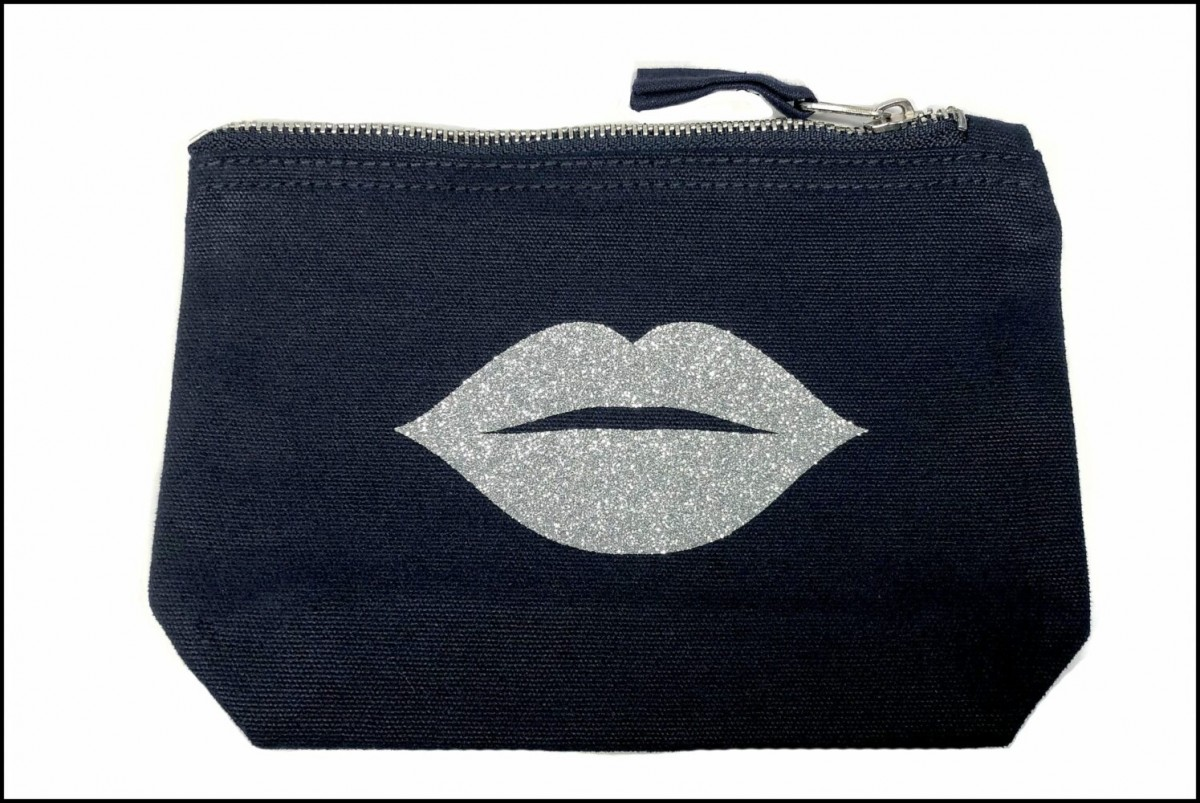 Moustache / Lips Accessory Bags at Henley Circle Online Shop