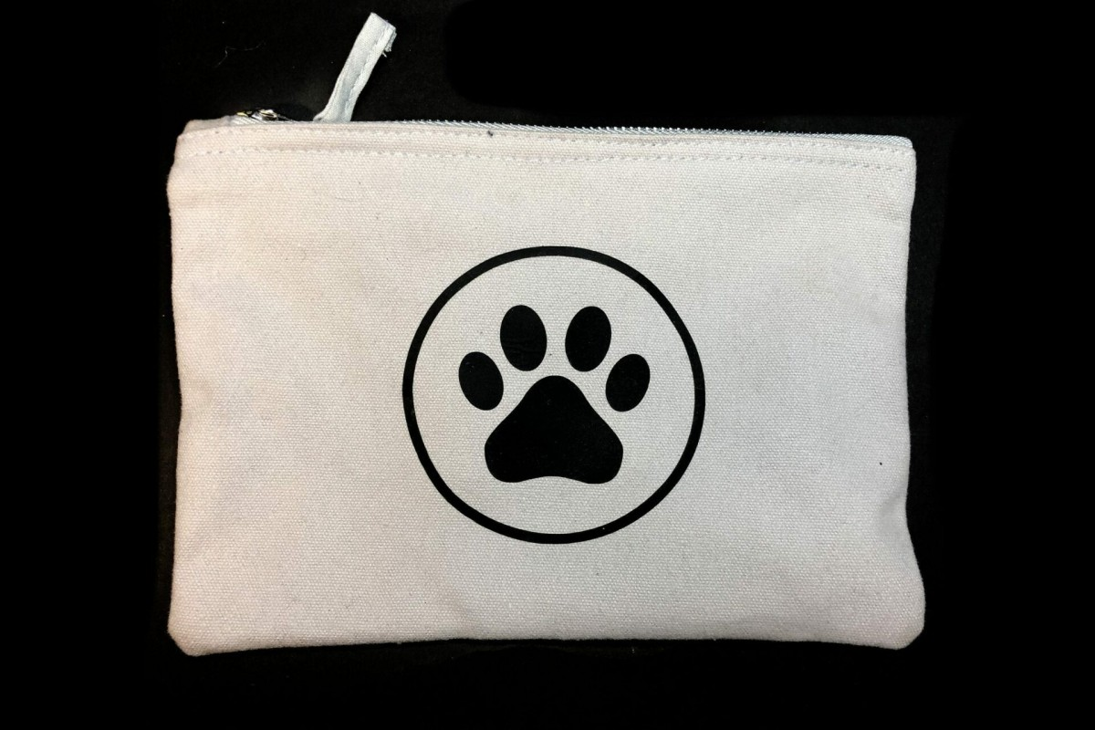 Paw Print Accessory Bag at Henley Circle Online Shop