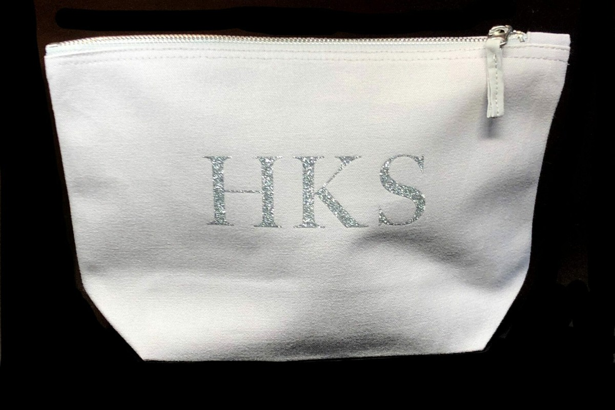 Personalised Initials Accessory Bag at Henley Circle Online Shop