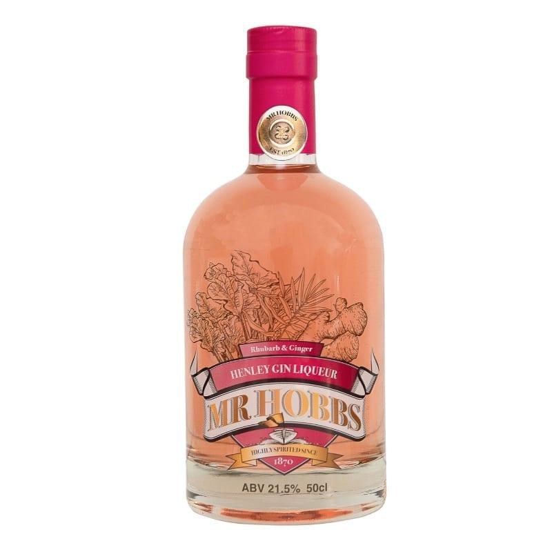 Mr Hobbs Rhubarb & Ginger Gin Liqueur 50cl at Henley Circle Online Shop