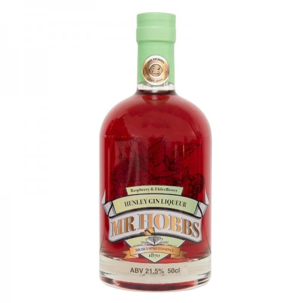 Mr Hobbs Raspberry & Elderflower Gin Liqueur 50cl at Henley Circle Online Shop
