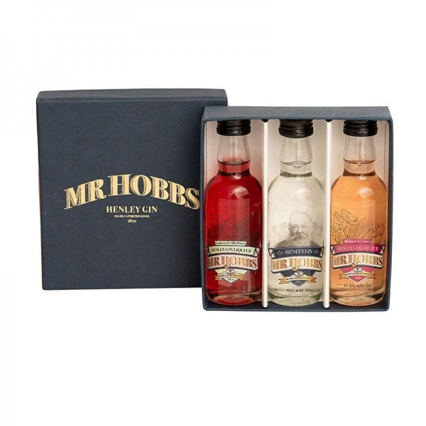 Mr Hobbs Miniatures 5cl Gin and Fruit Flavoured Gin Liqueurs at Henley Circle Online Shop