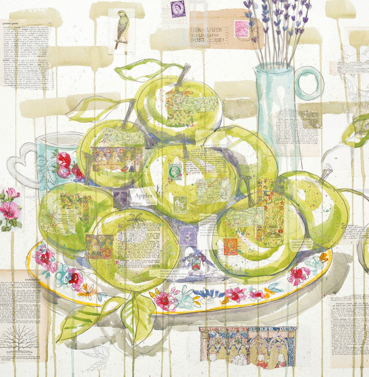 Spring collection of 4 cards by Kirsten Jones at Henley Circle Online Shop