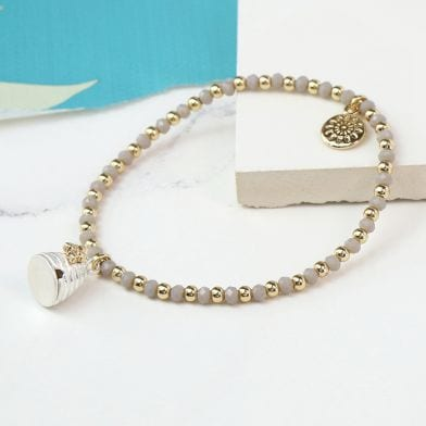Honey Bee And Beehive Beaded Bracelet at Henley Circle Online Shop