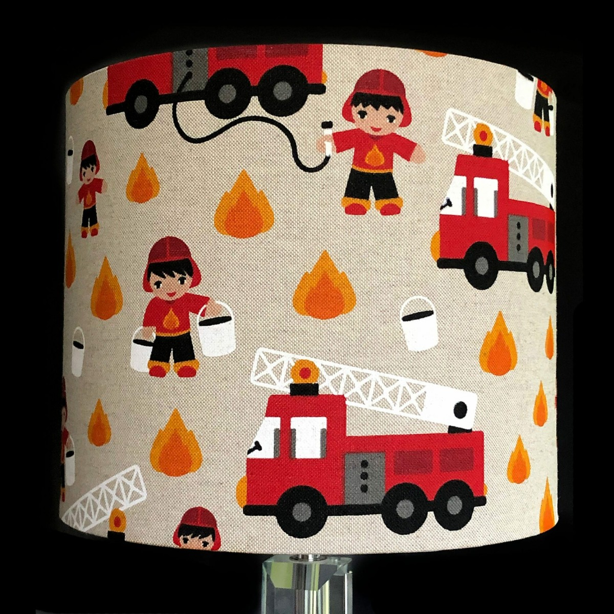 Fire engine Lampshade at Henley Circle Online Shop