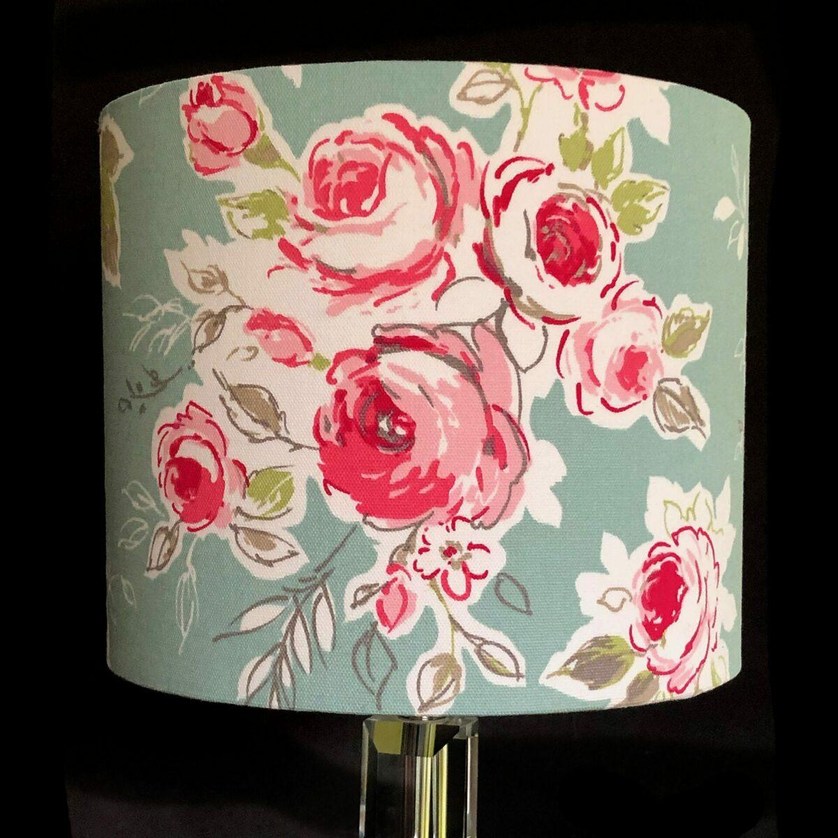 Pink Rose Lampshade at Henley Circle Online Shop