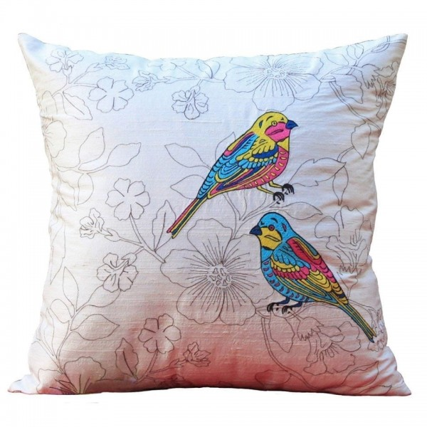Love Birds Cushion at Henley Circle Online Shop