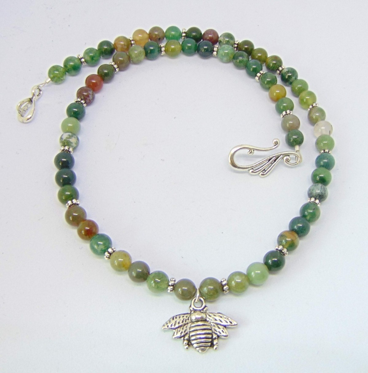 Honey Bee Gemstone Necklace at Henley Circle Online Shop