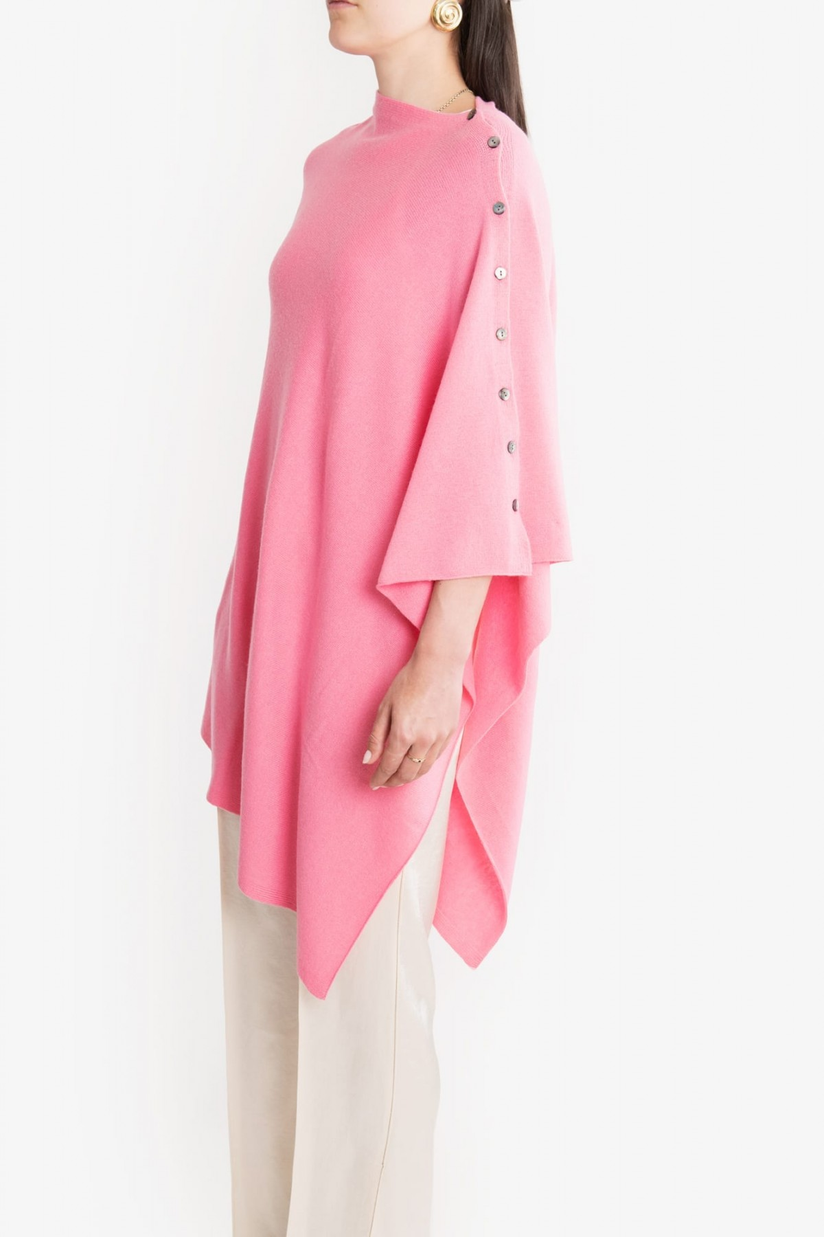 Cashmere Button Wrap – Choice of Beautiful Colours at Henley Circle Online Shop