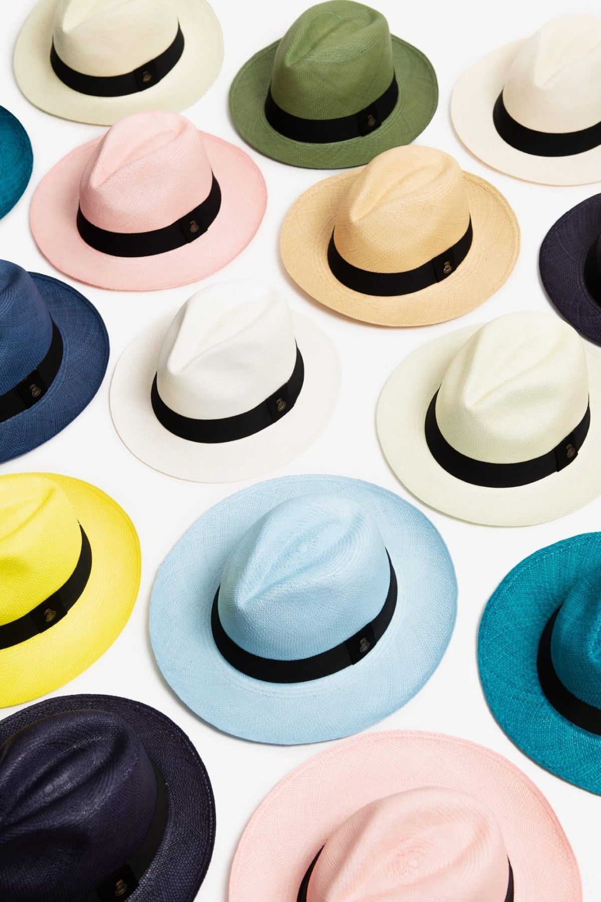 Panama Hats from Ecuador – Choose a Size & Colour at Henley Circle Online Shop