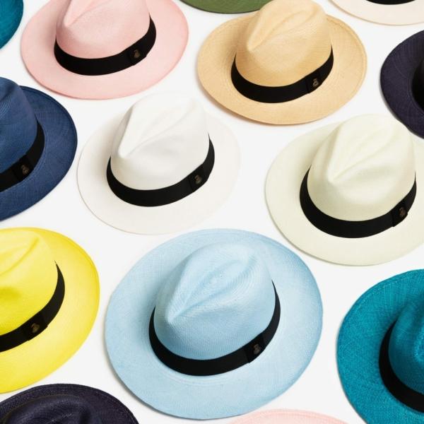 Panama Hats from Ecuador – Choose a Size & Colour at Henley Circle Online Shop