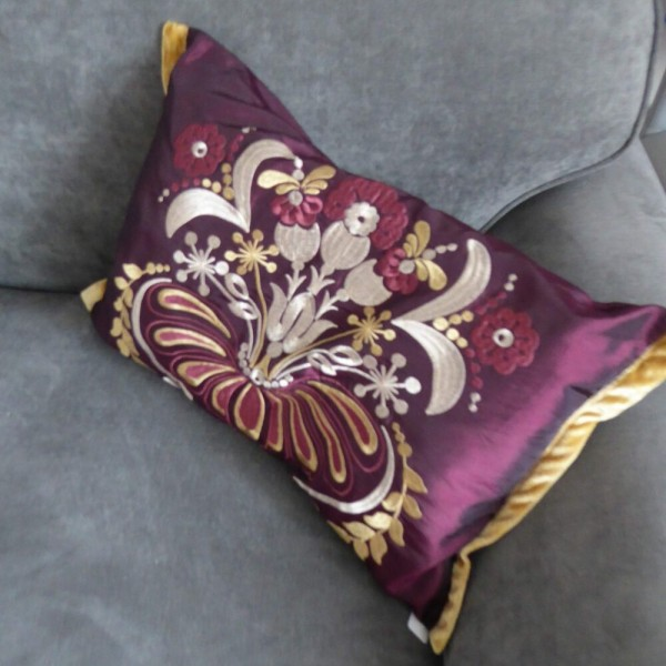Opulence Damson Cushion Cover at Henley Circle Online Shop