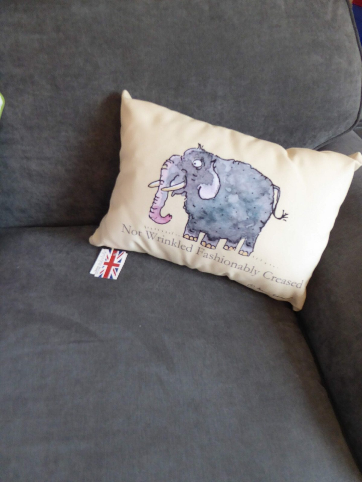 Fashion Crease Elephant Cushion at Henley Circle Online Shop