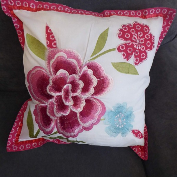 Tao Red Floral Cushion Cover at Henley Circle Online Shop