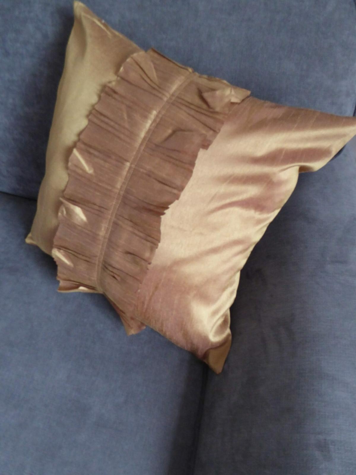 Gold Ruffles Cushion Cover at Henley Circle Online Shop