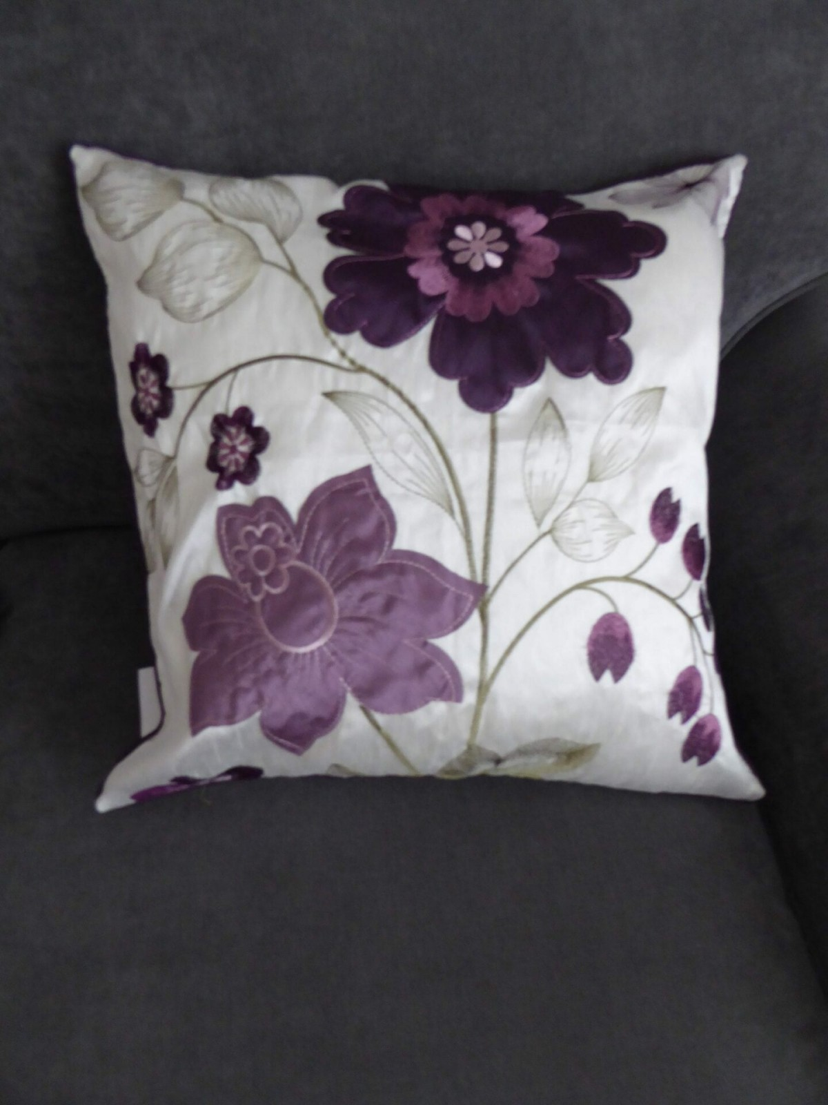 Phoebe Plum Cushion Cover at Henley Circle Online Shop