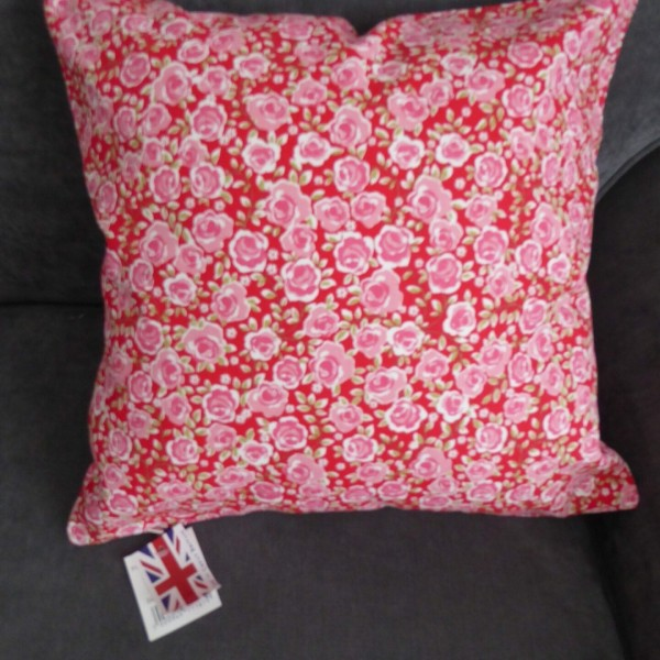 Ashley Wilde Summersdale Poppy Cushion Cover at Henley Circle Online Shop