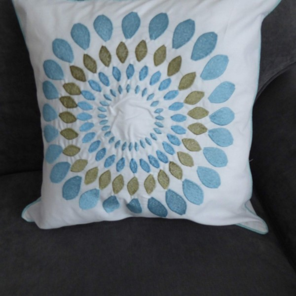 Niamh Teal Cushion Cover at Henley Circle Online Shop
