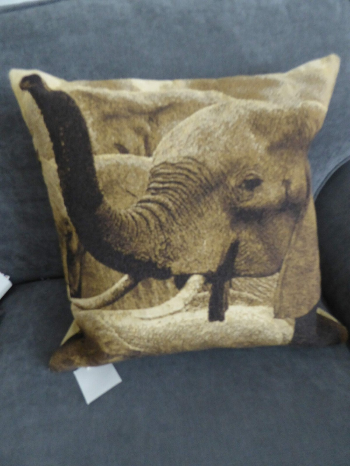 African Elephant Cushion Cover at Henley Circle Online Shop