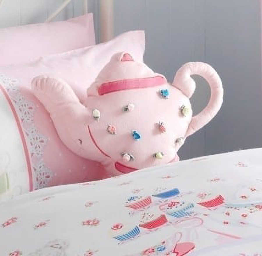 Teapot Cushion at Henley Circle Online Shop