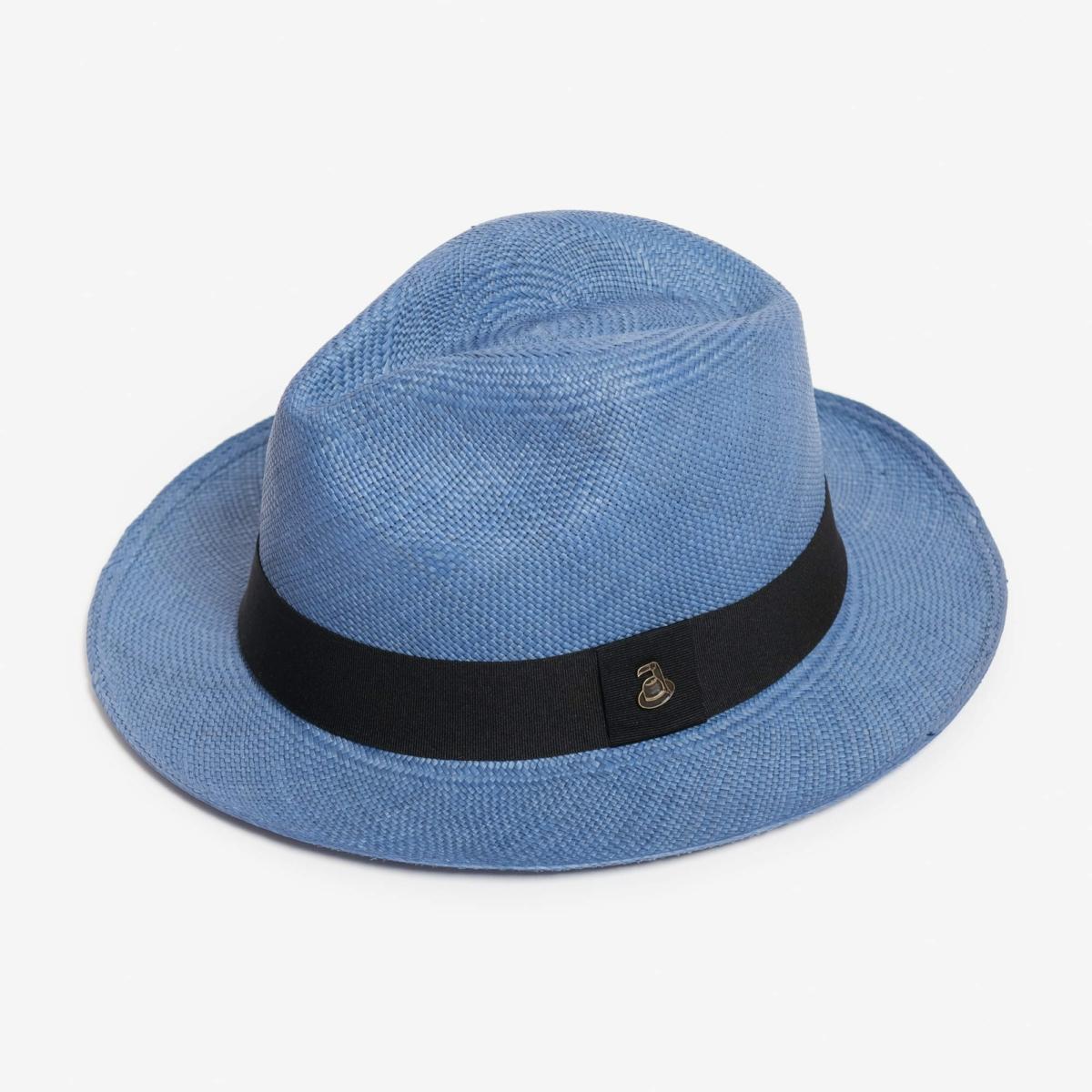 Panama Hat Denim Blue