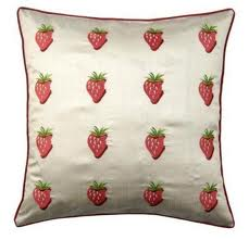 Red Strawberry Cushion Cover at Henley Circle Online Shop