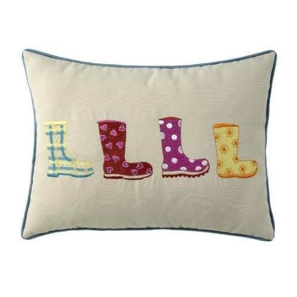 Wellie Boots Cushion at Henley Circle Online Shop