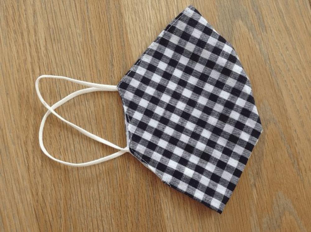 Black Gingham Pocket Facemask at Henley Circle Online Shop