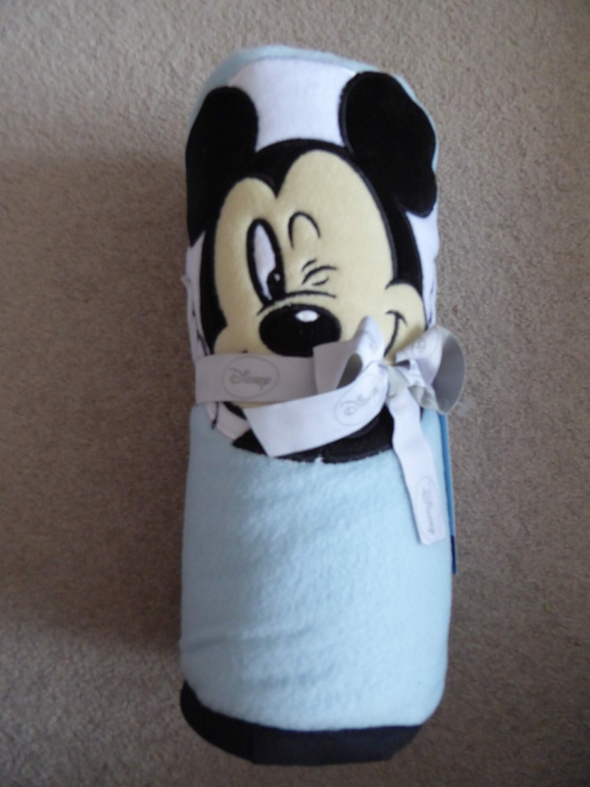 Mickey Mouse Throw / Baby blanket at Henley Circle Online Shop