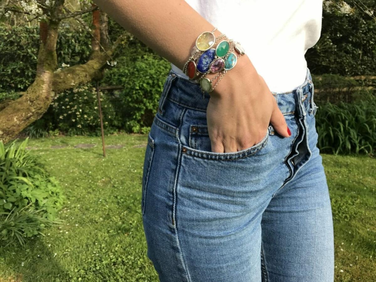 Pomona Bracelet – Green Onyx at Henley Circle Online Shop