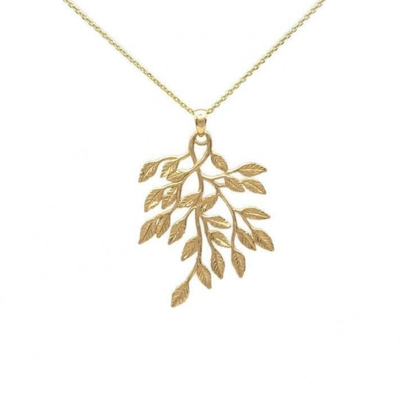 Uara Necklace – Gold Plated Silver at Henley Circle Online Shop