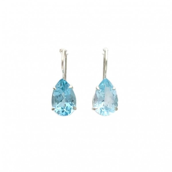 Adicia Hook Earrings – Blue Topaz at Henley Circle Online Shop