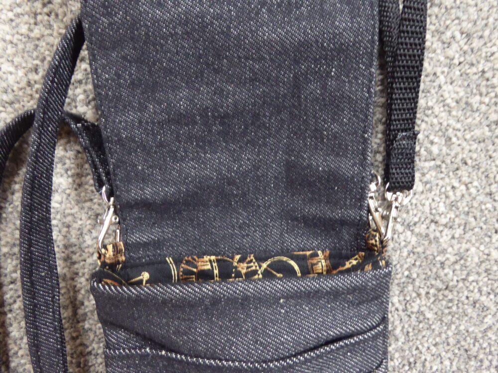 Mini Cross Body Bag/Messenger Bag fits most Mobile at Henley Circle Online Shop