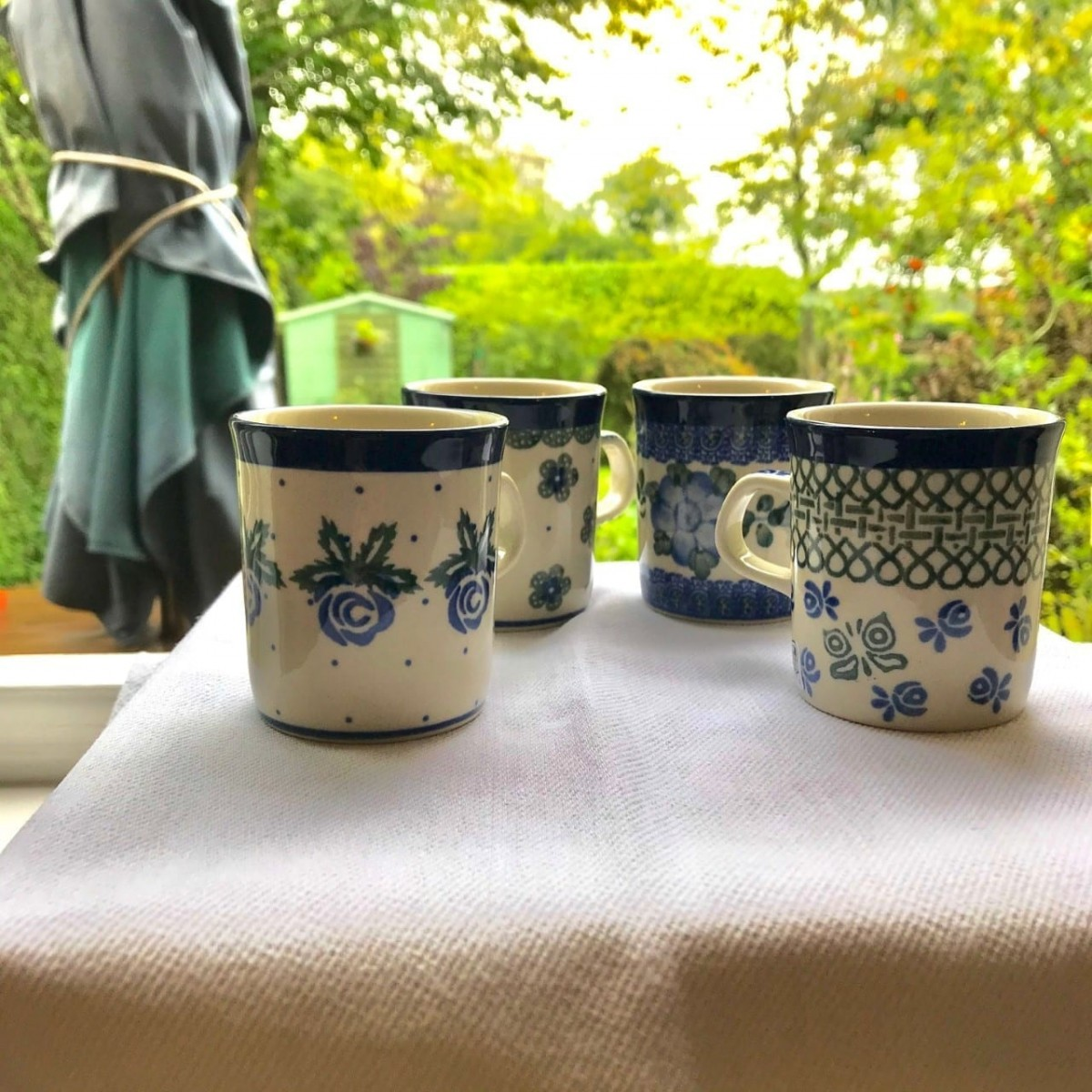 Set of 4 Small Coffee Cups at Henley Circle Online Shop