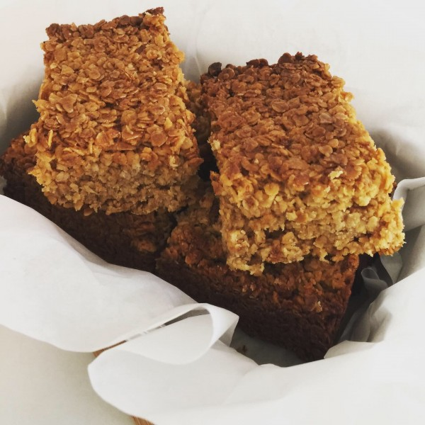 Sticky Marmalade Flapjack at Henley Circle Online Shop