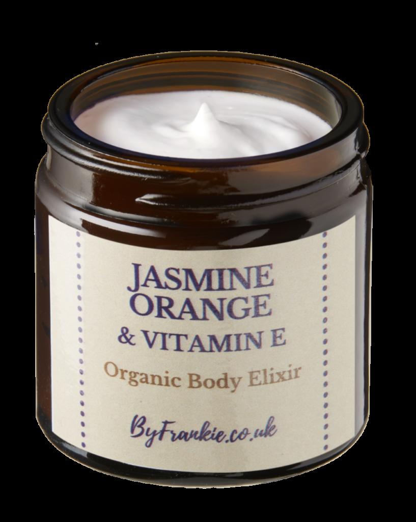 Organic Jasmine Orange & Vitamin Body Elixir 60g at Henley Circle Online Shop