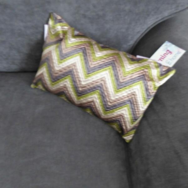 Zig Zag Boudoir Pink cushion at Henley Circle Online Shop