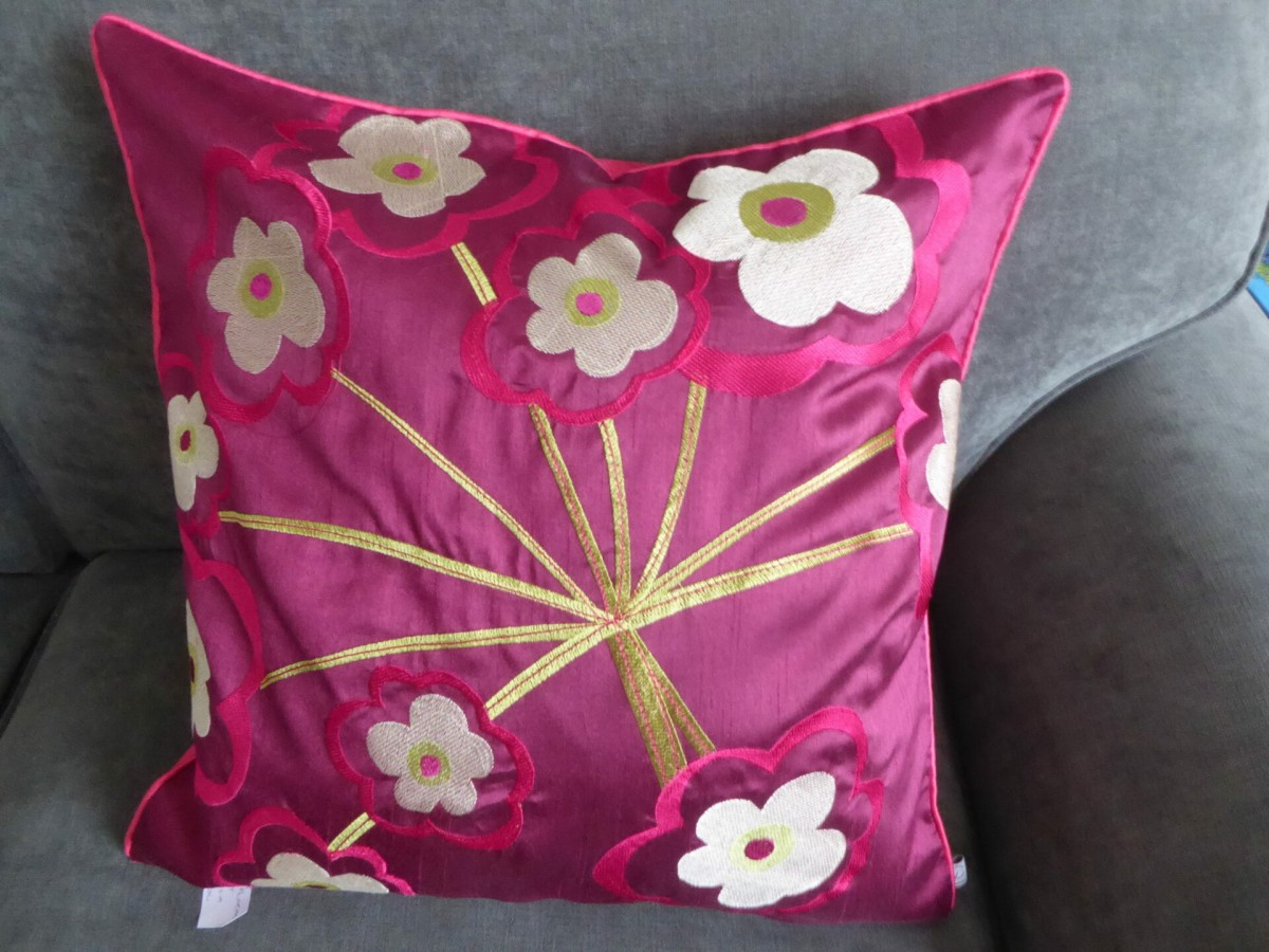 Floral Burst cushion covers at Henley Circle Online Shop