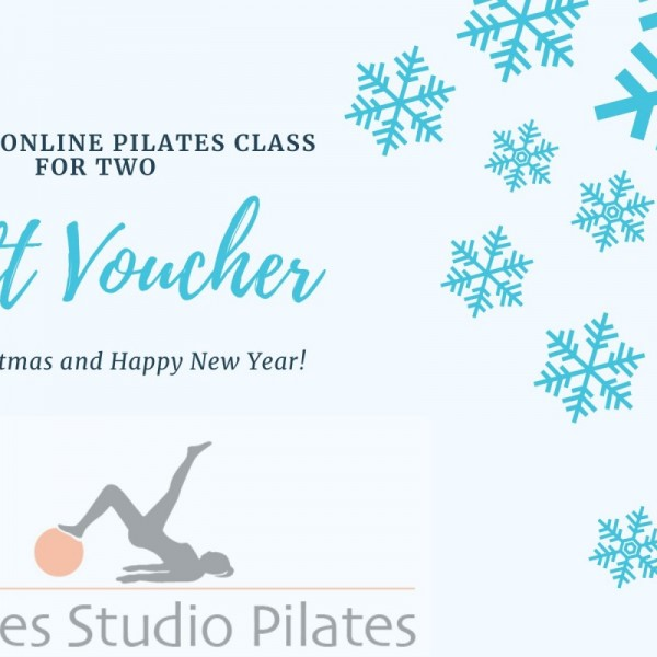 Private Online Pilates Gift Voucher for two Via Zoom at Henley Circle Online Shop
