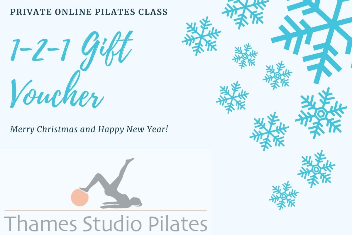 Private One to One Pilates 1 hour Gift Voucher Via Zoom at Henley Circle Online Shop