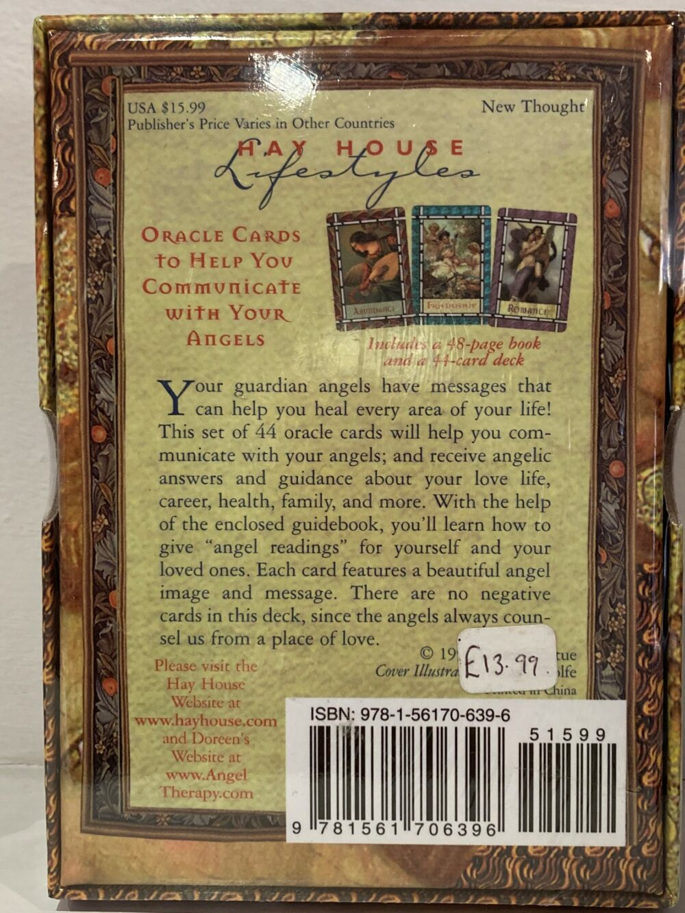 Healing With Angels – Doreen Virtue at Henley Circle Online Shop