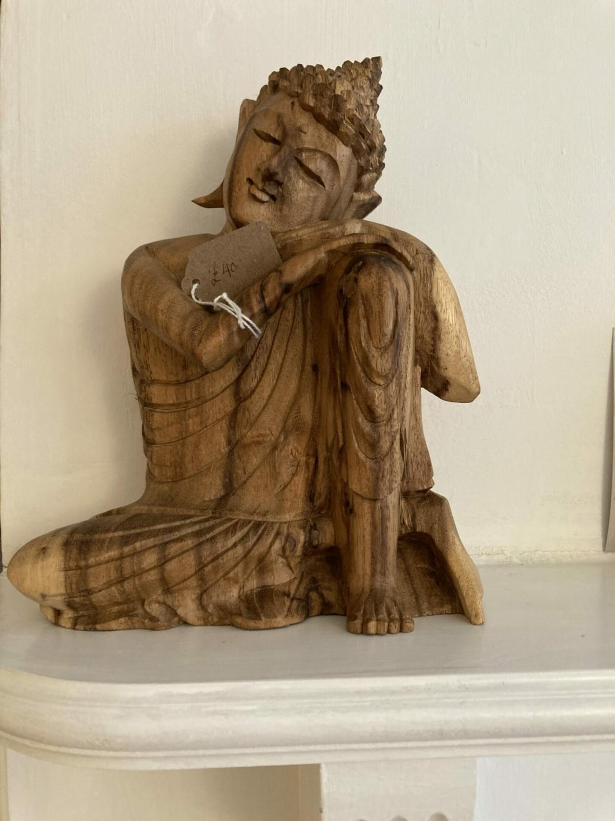 Kneeling Buddha at Henley Circle Online Shop